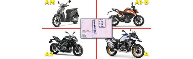 Read more about the article Estos son los tipos de carnet de moto que puedes encontrar
